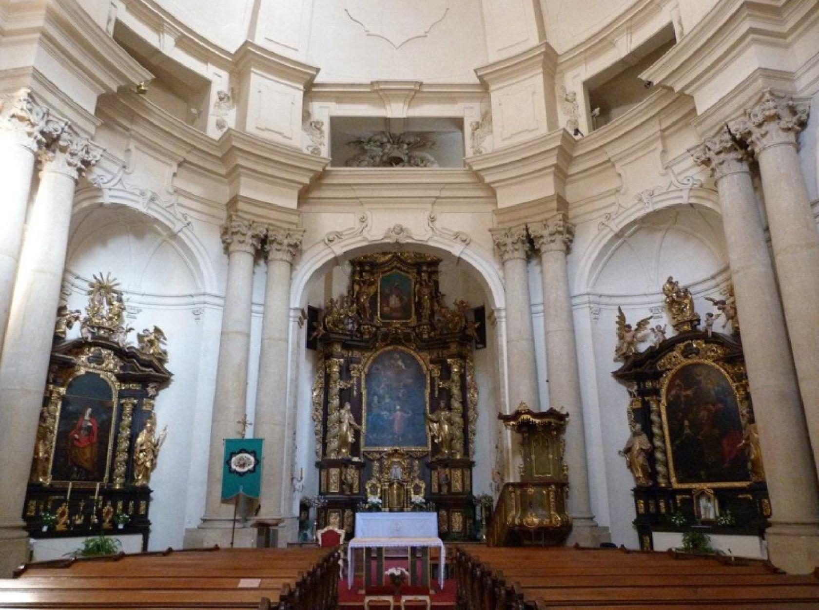 Интерьер церкви святого Йозефа