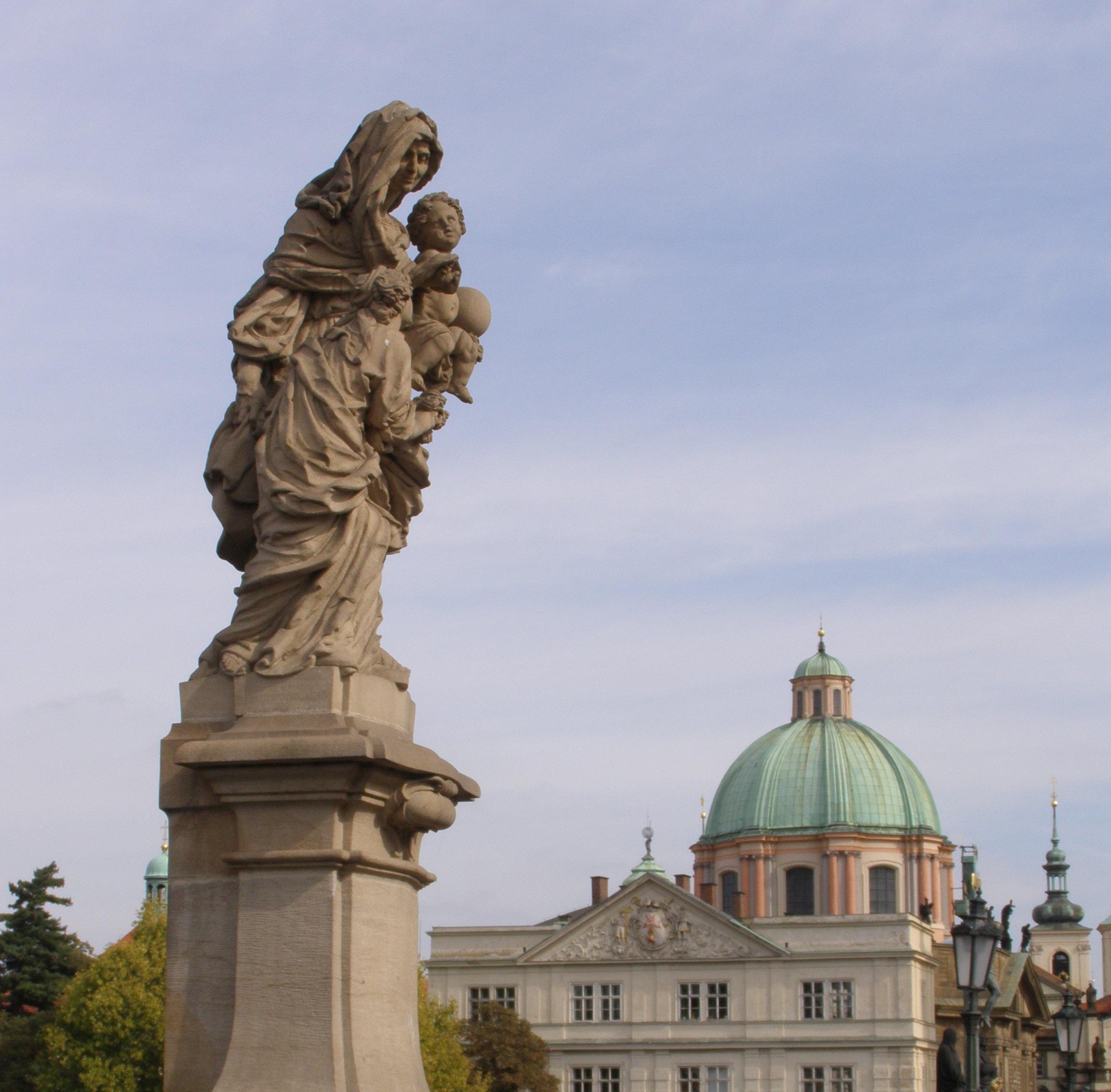 Святая Анна, Мария и Христос