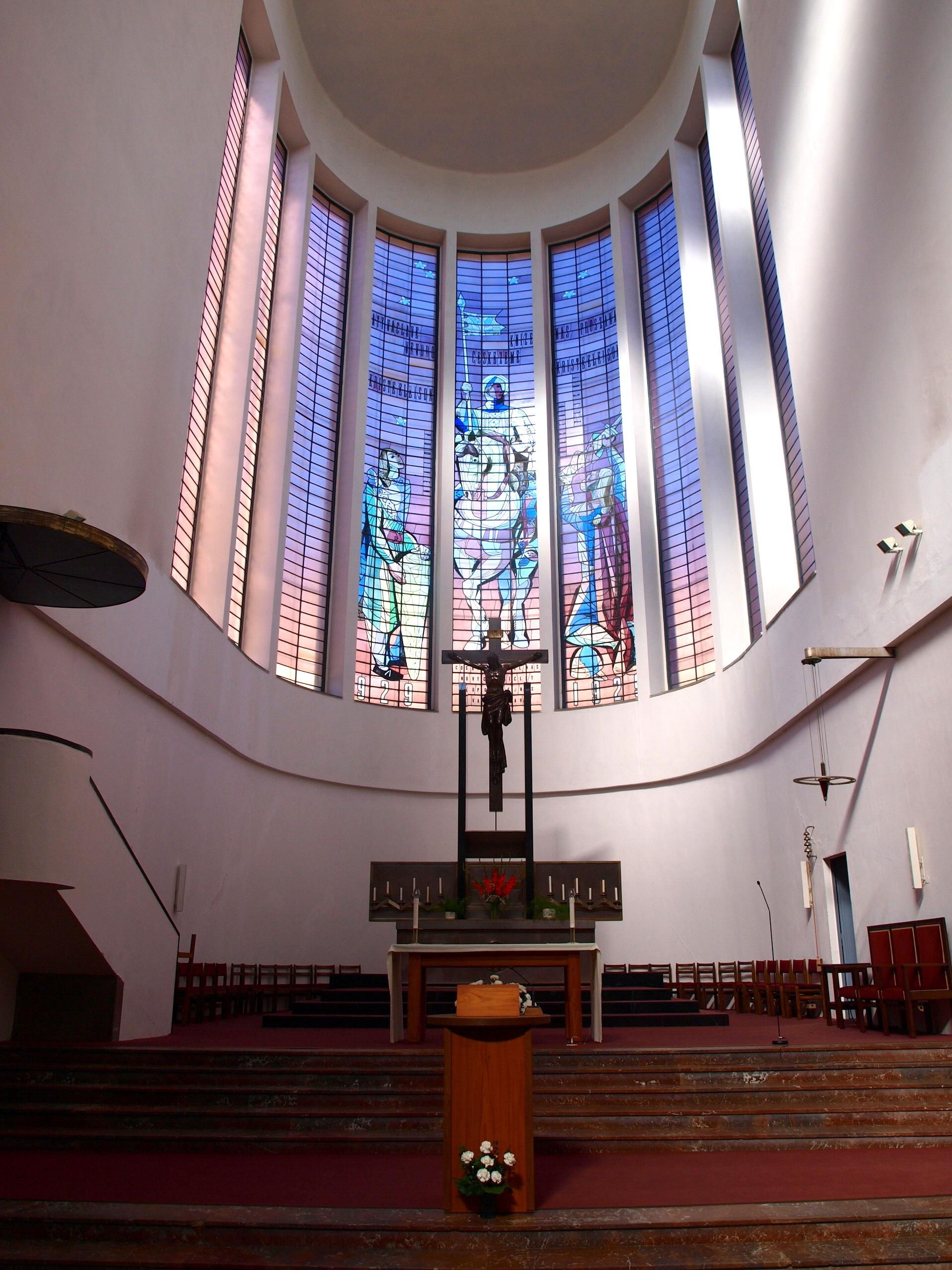 Интерьер костела святого Вацлава
