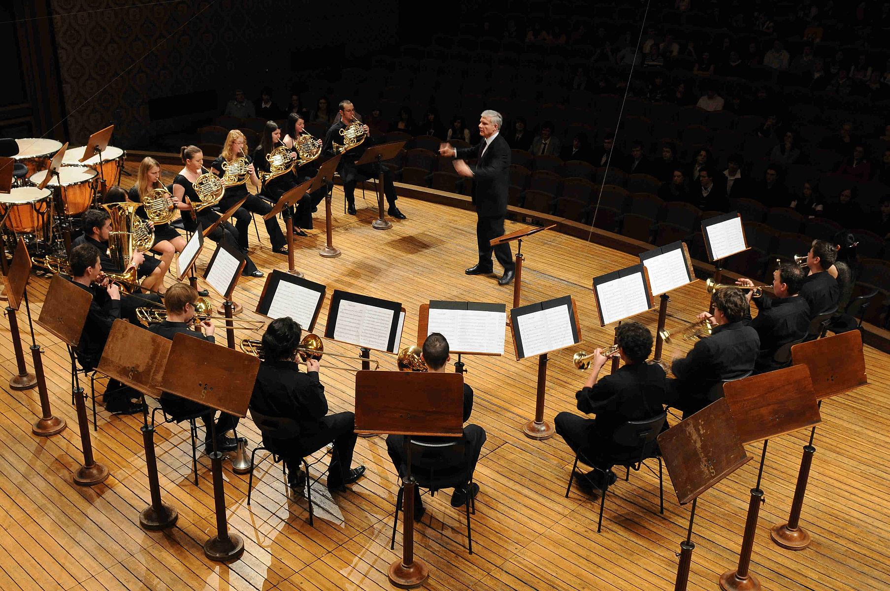 Концерт в Пражской консерватории