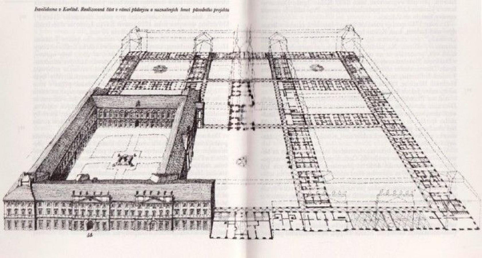 Оригинальный план Дома инвалидов