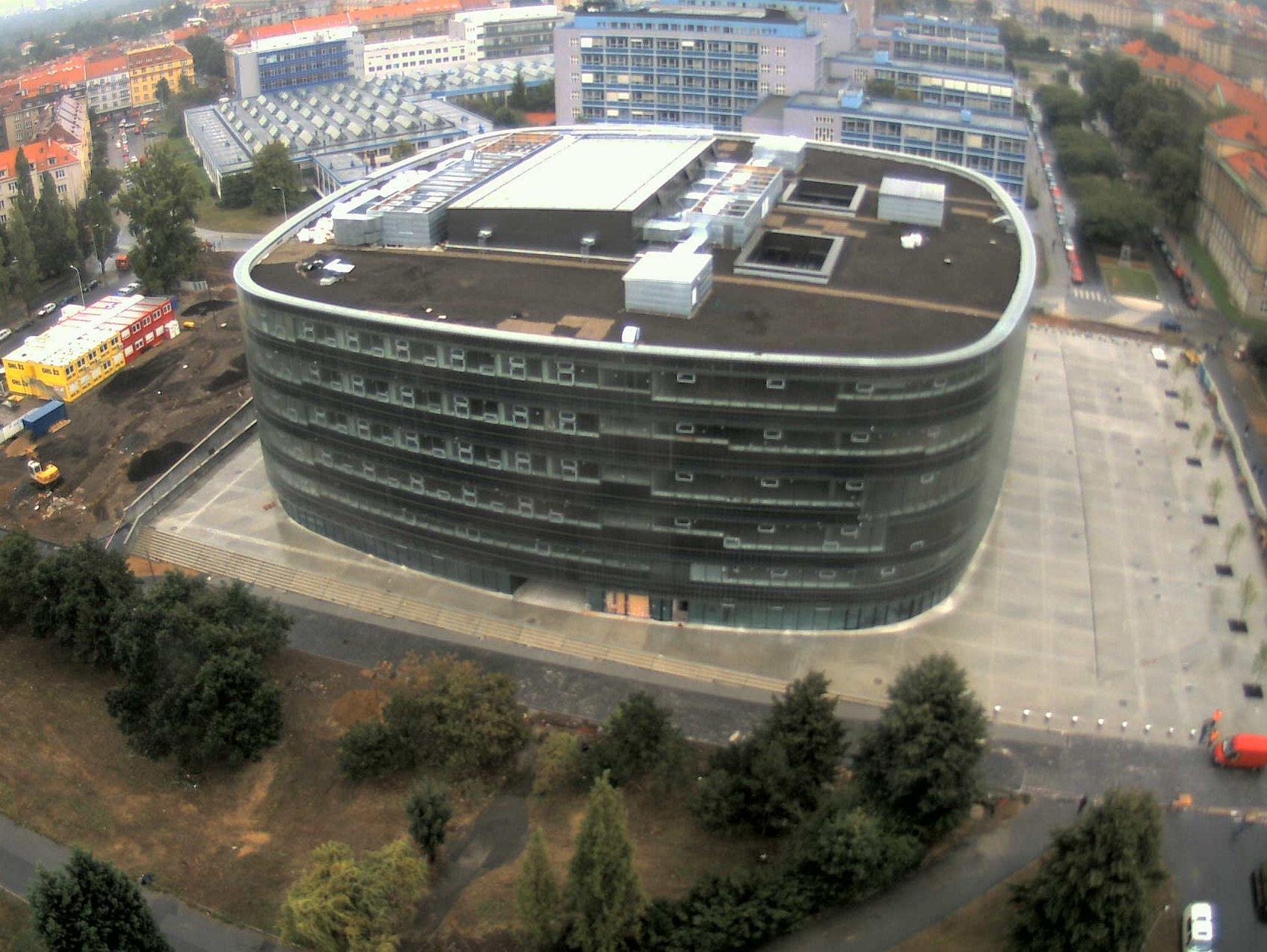Вид сверху на Техническую библиотеку