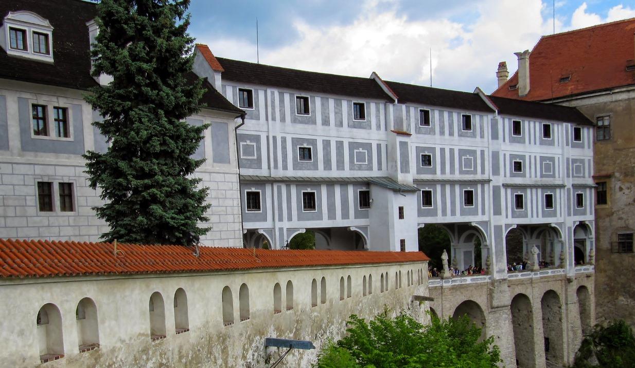 Замок Крумлов (Cesky Krumlov)