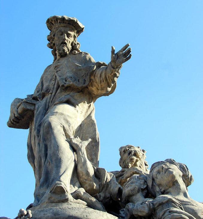 статуя святого Иво