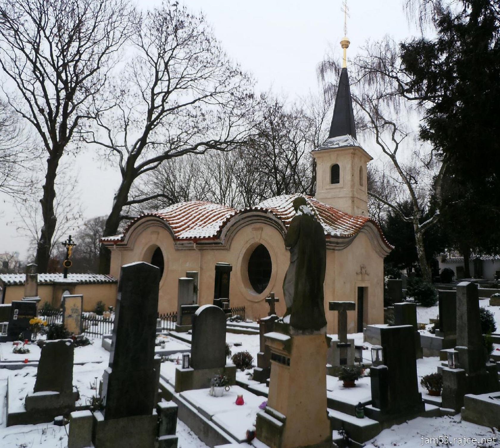Часовня святого Лазаря на Бржевноском кладбище