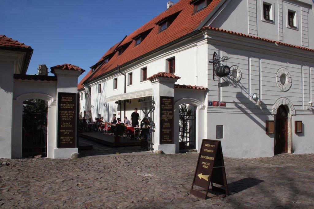 Монастырская пивоварня Страгов — Klášterní pivovar Strahov