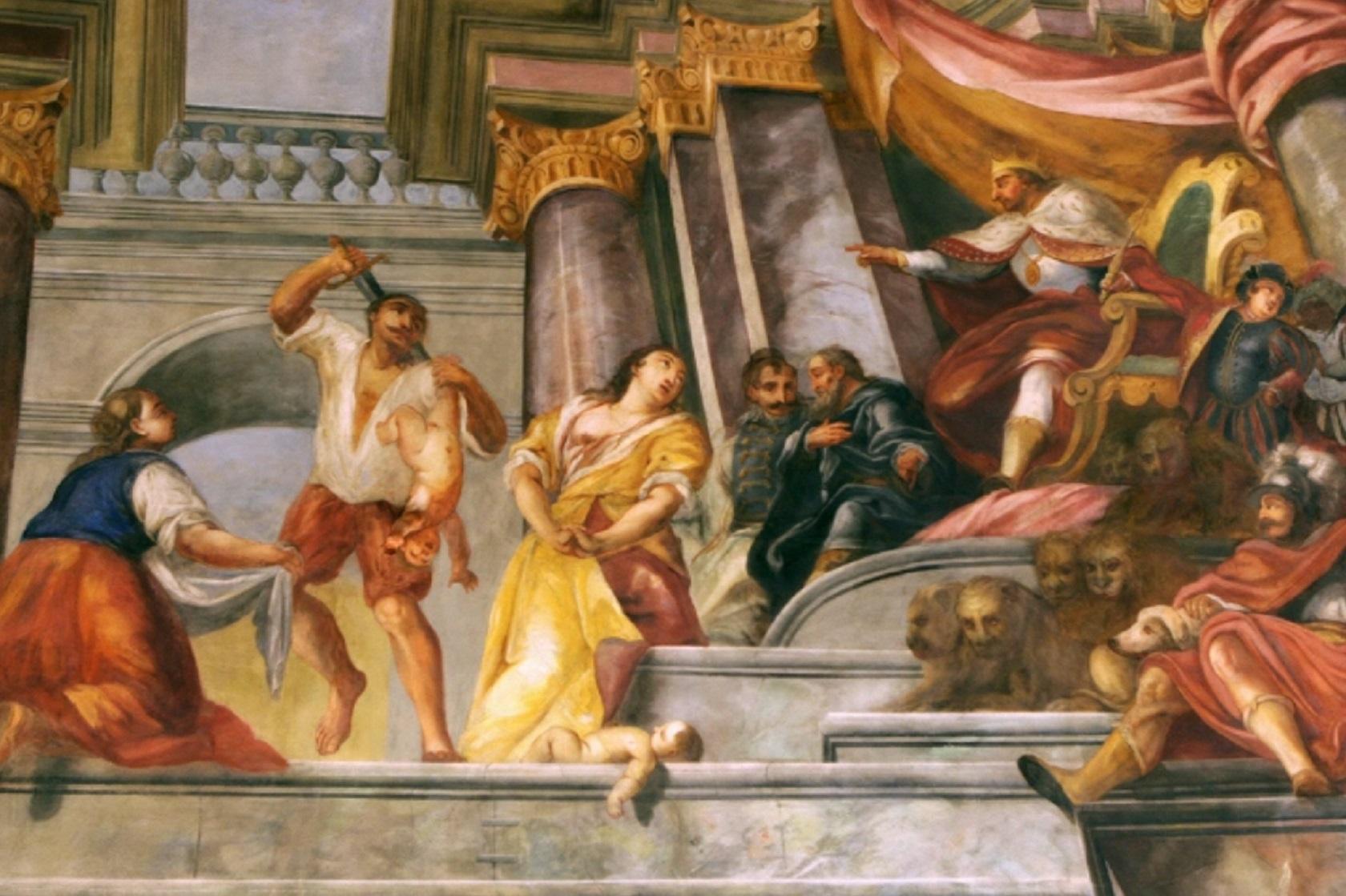 Фреска Соломонов суд в ратуше