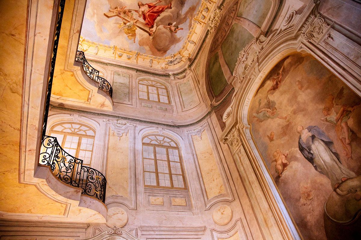 Интерьер дворца Лобковиц