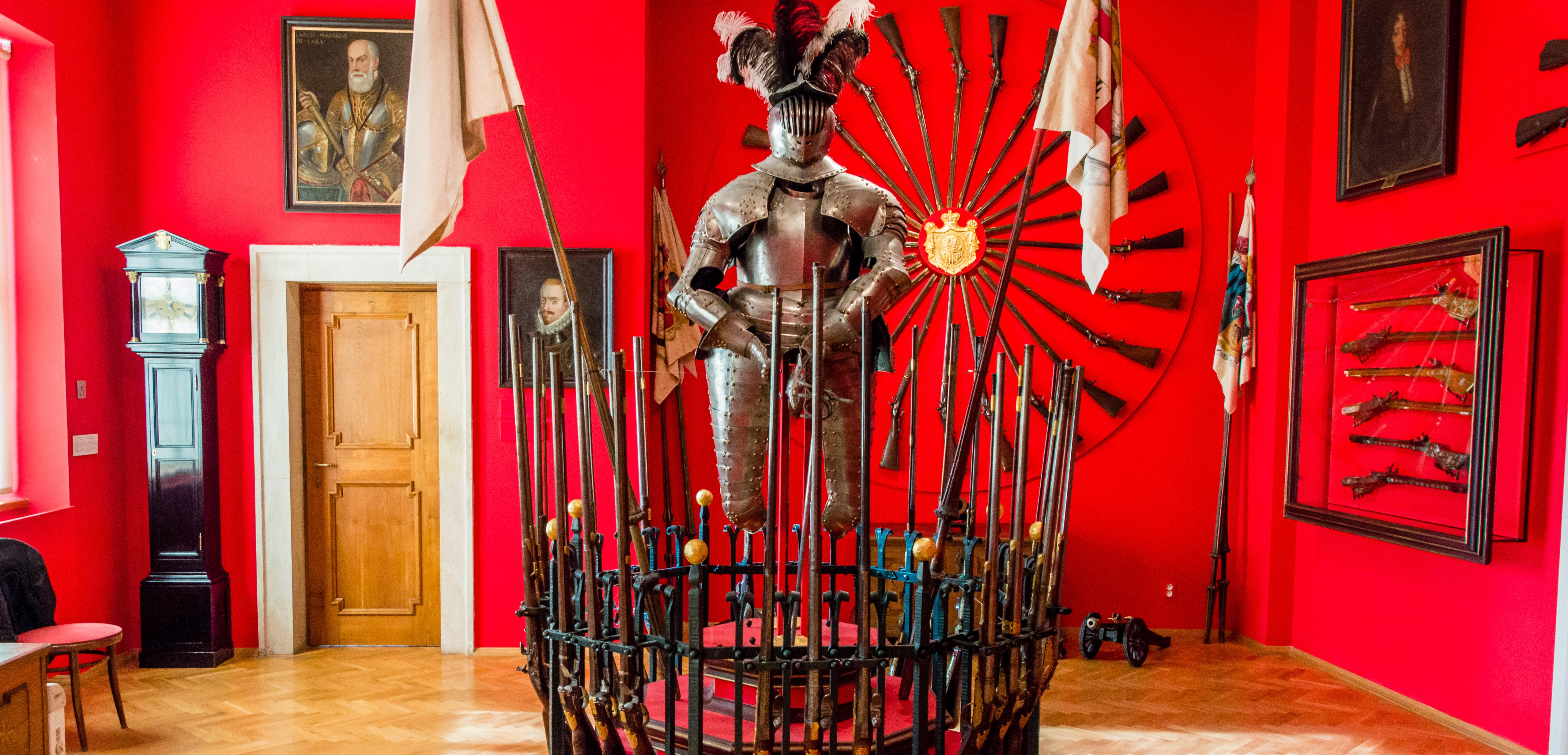 Экспонат музея дворца Лобковиц