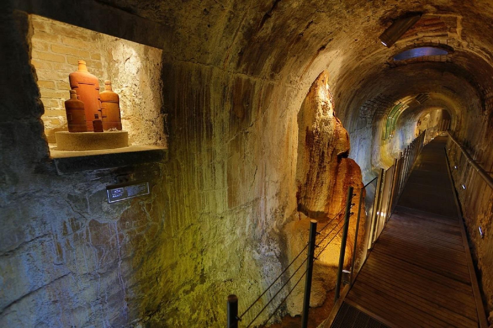 Подземелье Гейзерной колоннады