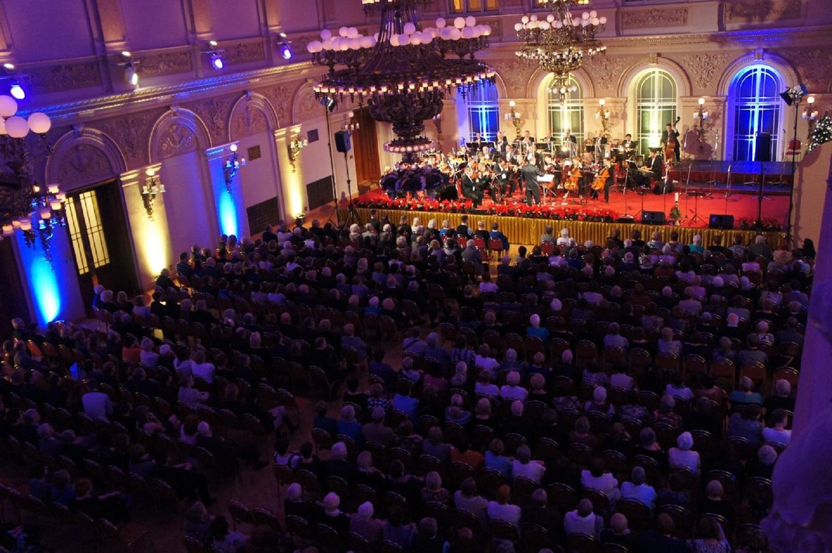 Рождественский концерт во дворце Жофин