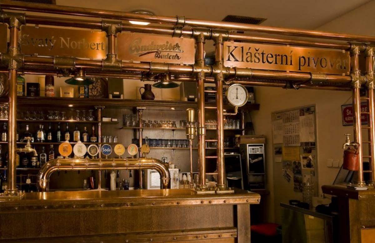 Монастырская пивоварня Страгов пивная