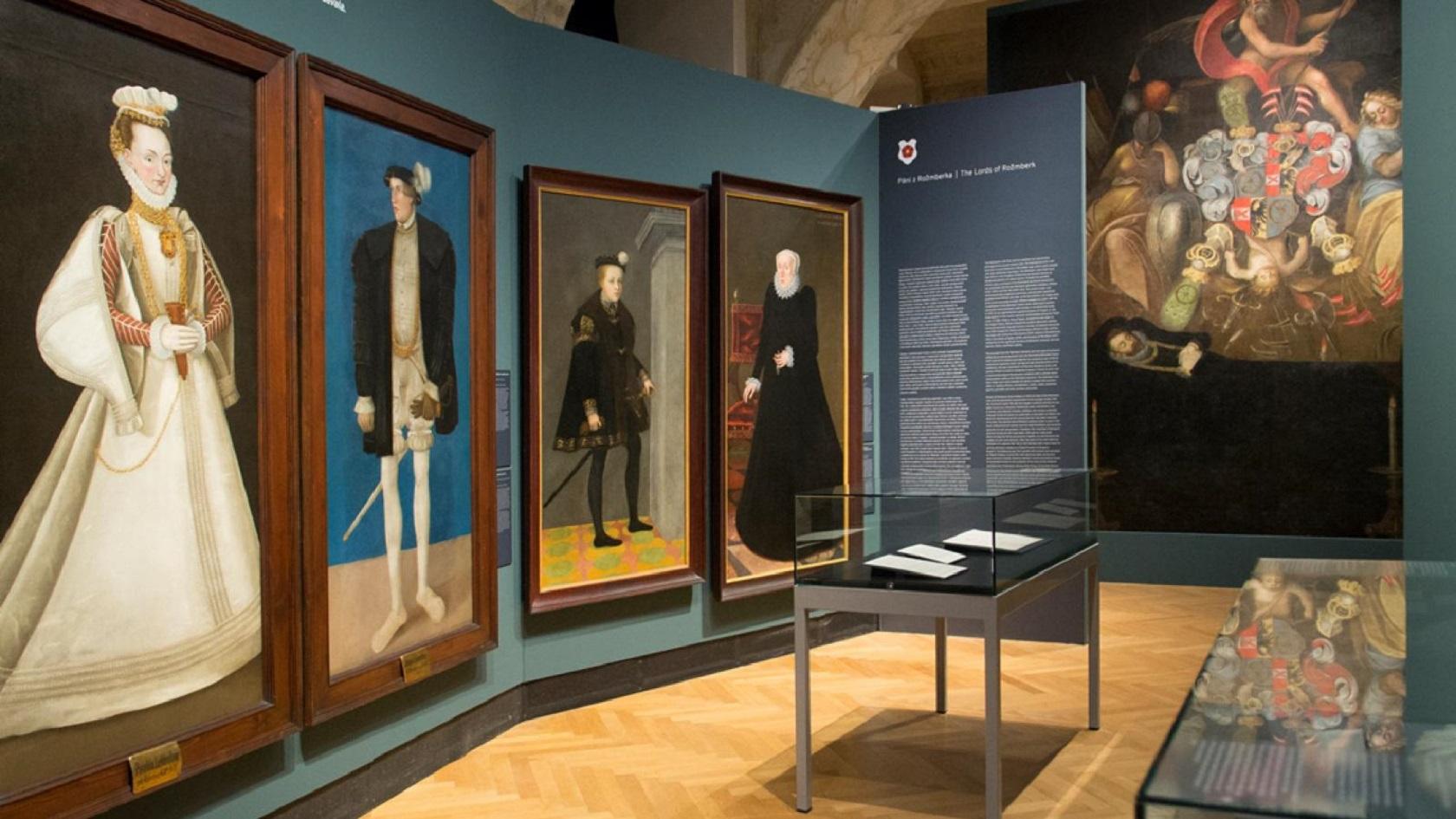 Выставка в Штернбергском дворце