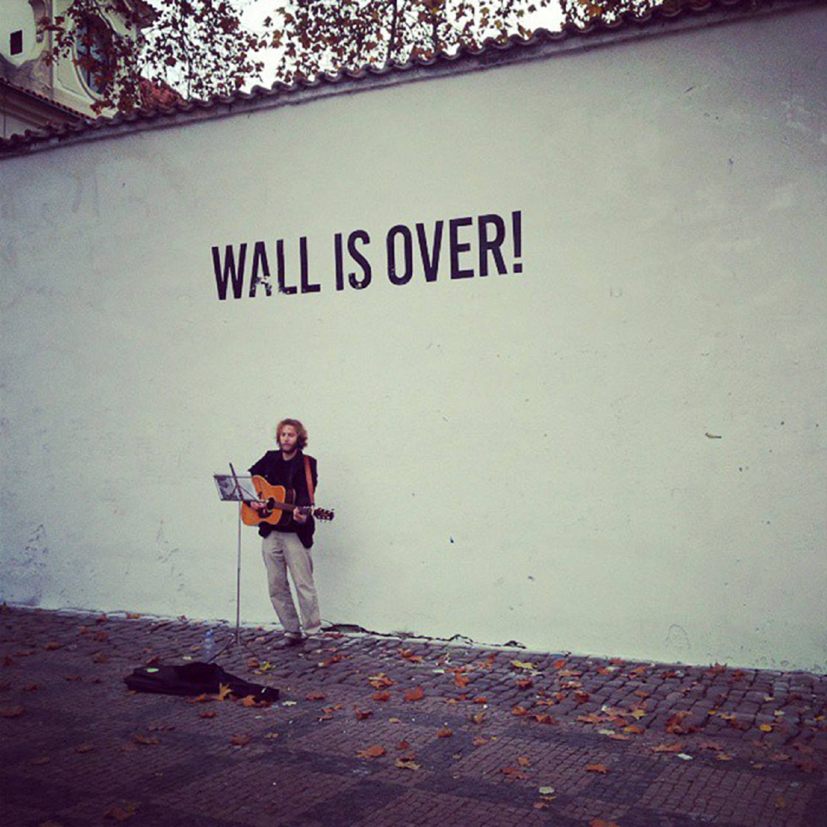 Wall is over