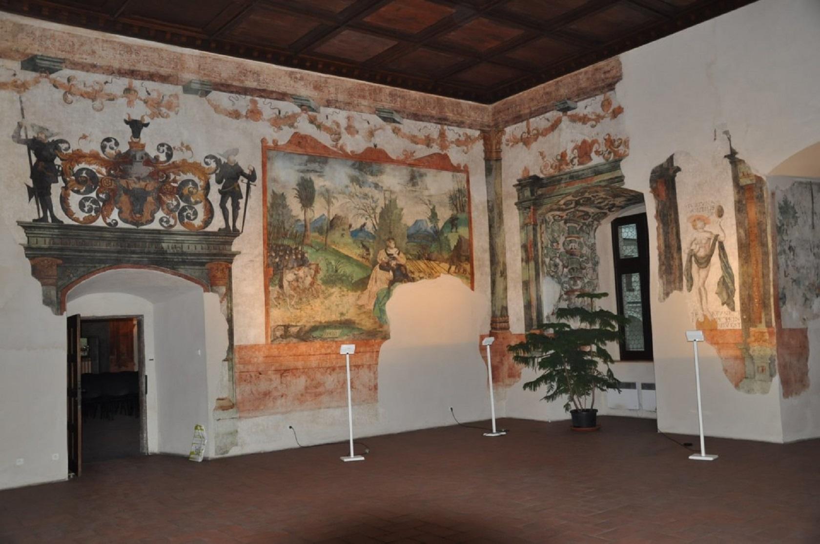 Зал замка Пардубице