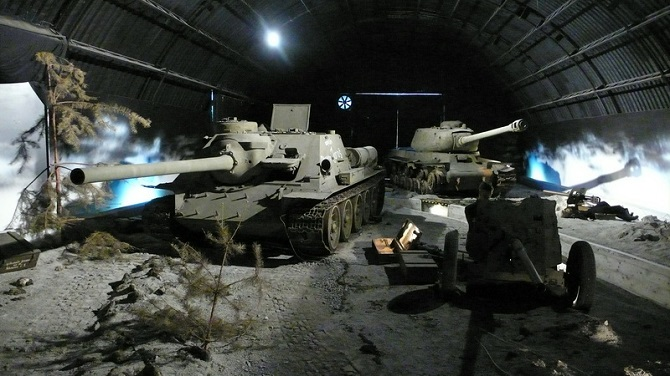 Экспонаты Военного музея 2