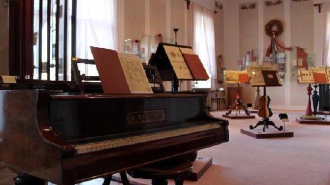 Экспозиция музея Сметаны