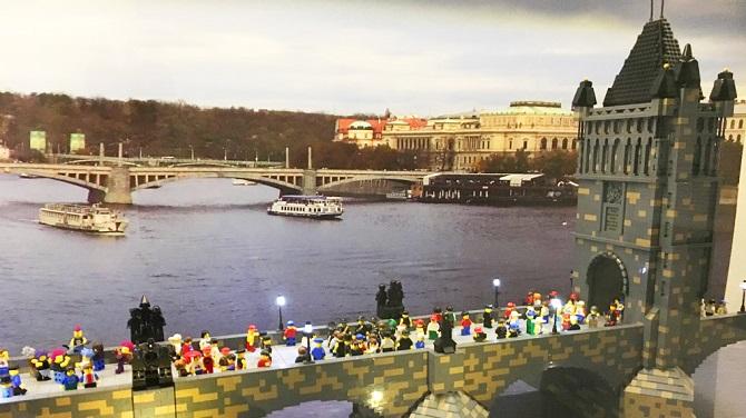 Карлов мост в музее Лего