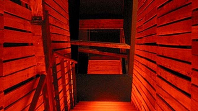 Коридор в музее Кафки