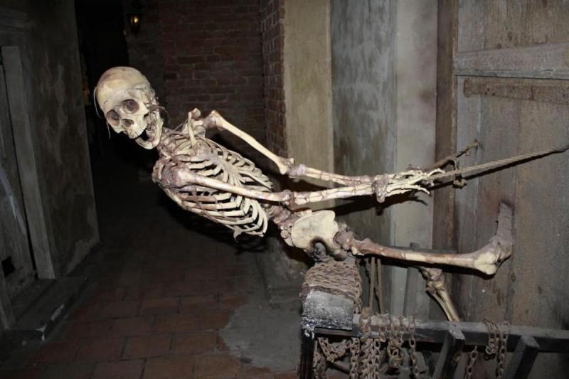 Скелет из Музея призраков