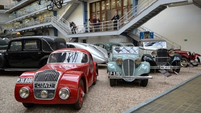 Транспорт в Техническом музее