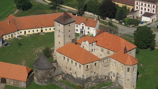 Замок Шмихов сверху
