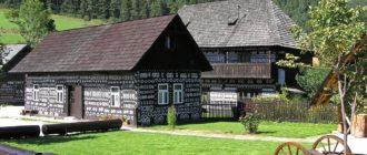 Деревни в окрестностях Праги