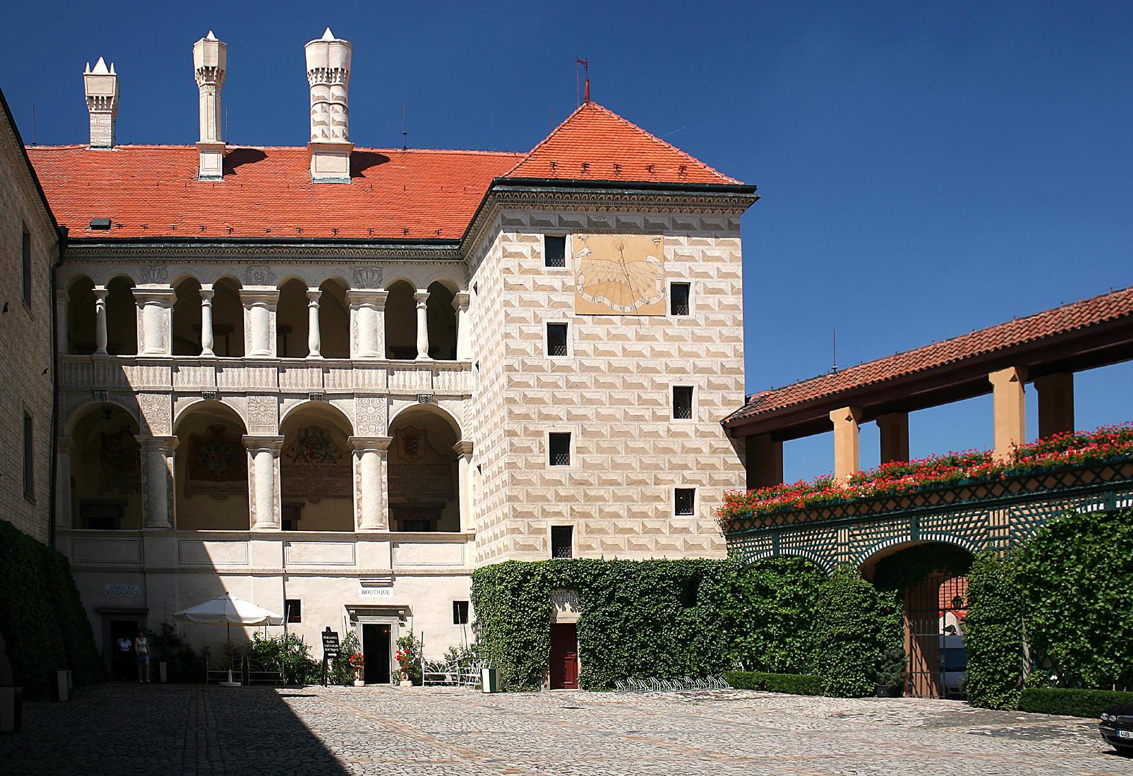 Замок Гоуска (Houska)