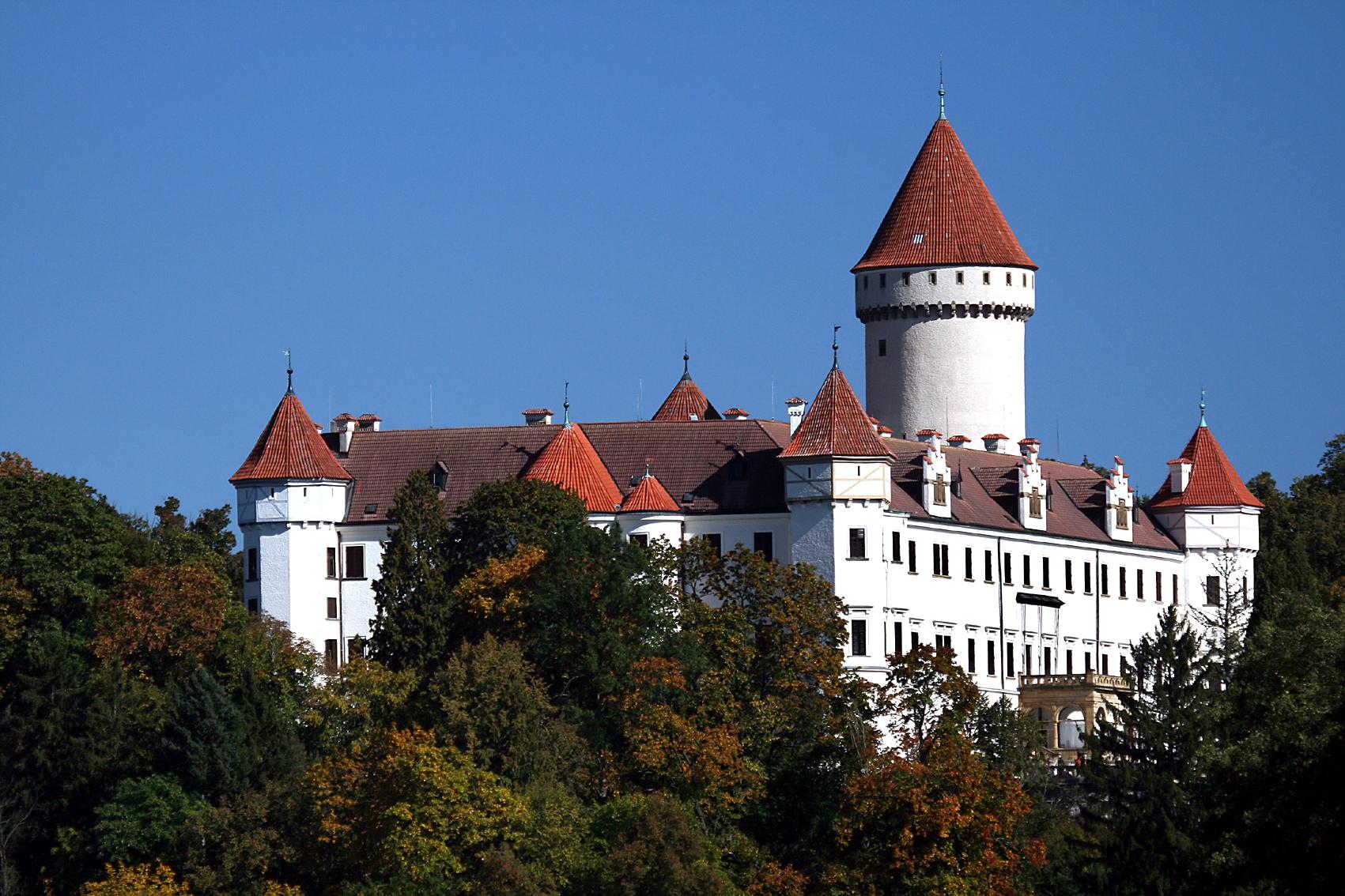 Замок Конопиште