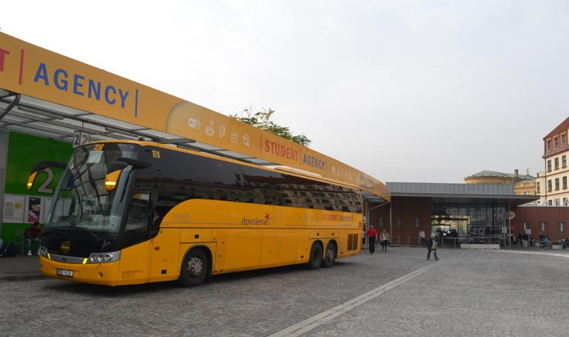 Автобус в Карловы Вары