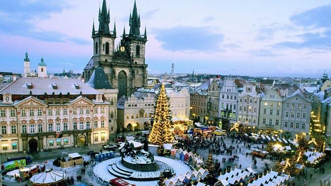 Погода в Праге