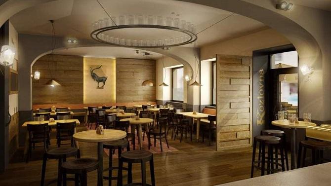 Ресторан в Праге