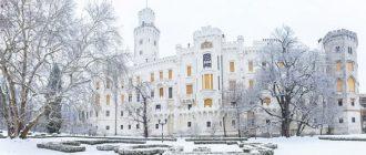 Замки Чехии зимой